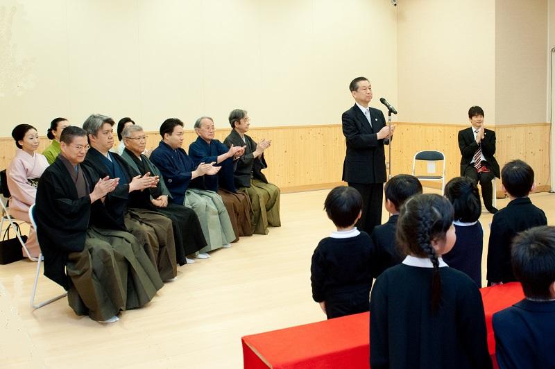こども歌舞伎スクール寺子屋第二期生入校式